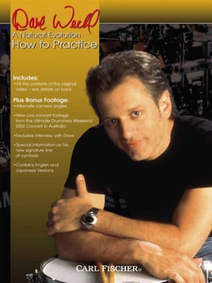 Dave Weckl - DVD - A Natural Evolution - How To Practice - Sheet Music - di-arezzo.com