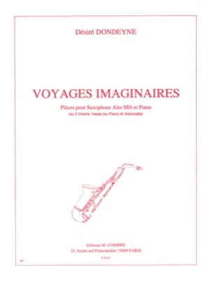 Désiré Dondeyne - Imaginary Travels - Sheet Music - di-arezzo.co.uk