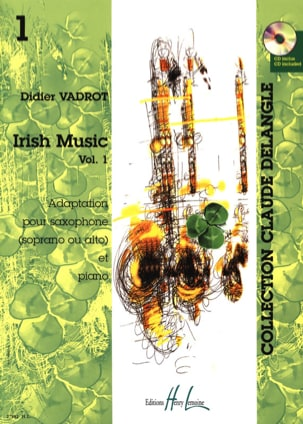 Irish Music Volume 1 Didier Vadrot Partition Saxophone - laflutedepan