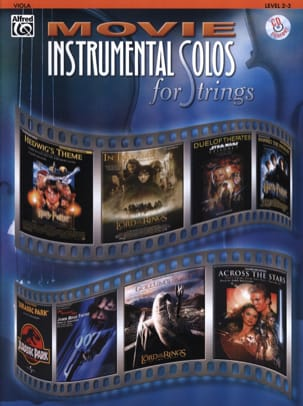 Movie instrumental solos for strings Partition Alto - laflutedepan