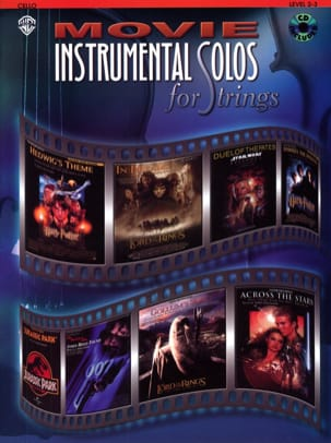 Movie instrumental solos for strings Partition laflutedepan