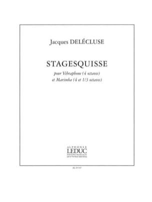 Stagesquisse - Jacques Delécluse - Partition - laflutedepan.com