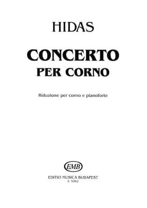 Concerto - Frigyes Hidas - Partition - Cor - laflutedepan.com