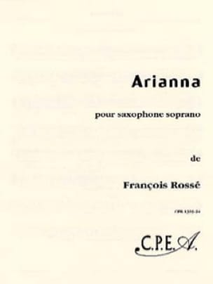 François Rossé - Arianna - Partition - di-arezzo.fr