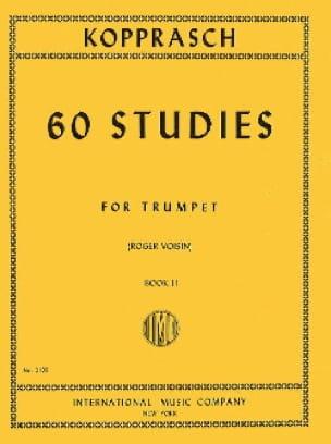 Georg Kopprasch - 60 Studies Book 2 - Partition - di-arezzo.fr