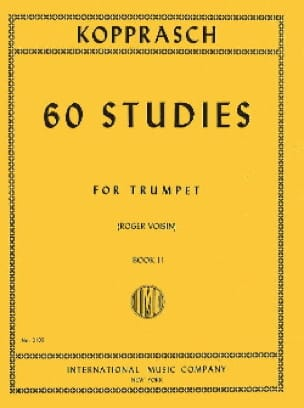 Georg Kopprasch - 60 Studies Book 2 - Sheet Music - di-arezzo.com