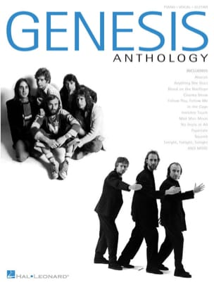 Genesis - Anthology - Partition - di-arezzo.fr