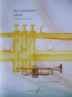 Bruno Lescarret - Sonate - Partition - di-arezzo.fr