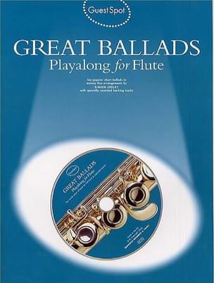 - Guest Spot - Great Ballads Playalong For Flute - Sheet Music - di-arezzo.com