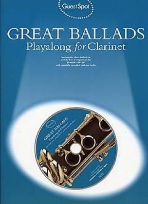Guest Spot - Great Ballads Playalong For Clarinet - laflutedepan.com