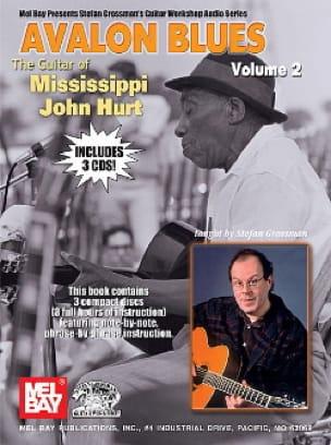 Avalon Blues Volume 2 avec 3 CDs - laflutedepan.com