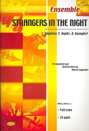 Strangers In The Night B. Kaempfert Partition ENSEMBLES - laflutedepan