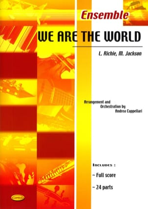 Richie L. / Jackson M. - We Are The World - Partition - di-arezzo.fr