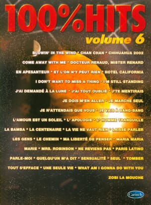 - 100% hits volume 6 - Sheet Music - di-arezzo.co.uk
