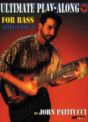 John Patitucci - Ultimate Play Along For Bass Level 1 Volume 2 - Sheet Music - di-arezzo.co.uk