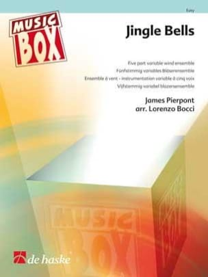 James Pierpont - Jingle bells - music box - Sheet Music - di-arezzo.co.uk