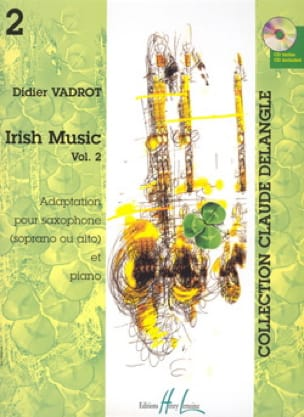 Didier Vadrot - Irish Music Volume 2 - Partition - di-arezzo.fr