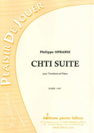 Philippe Oprandi - Suite Chti - Partitura - di-arezzo.it