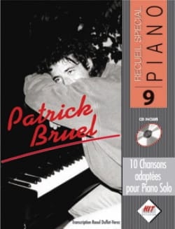 Patrick Bruel - Recueil spécial piano N° 9 - Sheet Music - di-arezzo.co.uk