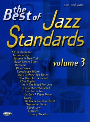 - The Best Of Jazz Standards Volume 3 - Partition - di-arezzo.fr