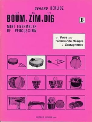 Boum, Zim, Dig. 12 Duos Volume B - Gérard Berlioz - laflutedepan.com