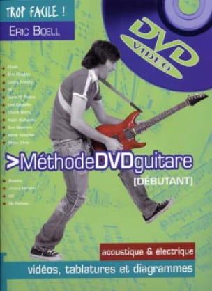 Eric Boell - Méthode Guitare Débutant - Partition - di-arezzo.fr
