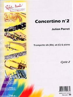 Julien Porret - Concertino N° 2 - Partition - di-arezzo.fr