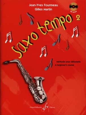 Fourmeau Jean-Yves / Martin Gilles - Saxo Tempo Volume 2 - Sheet Music - di-arezzo.co.uk