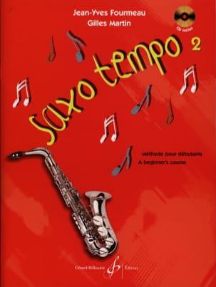 Fourmeau Jean-Yves / Martin Gilles - Saxo Tempo Volume 2 - Sheet Music - di-arezzo.com