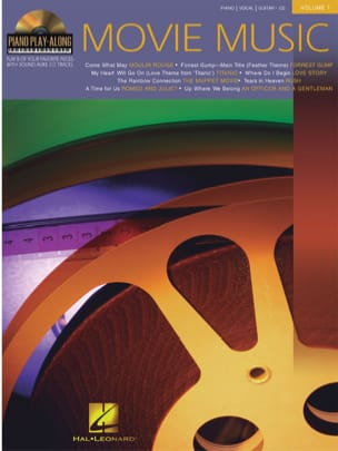 Piano Play-Along Volume 1 - Movie Music - Partition - di-arezzo.fr