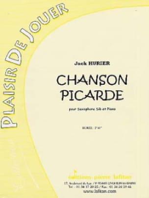 Jack Hurier - Chanson Picarde - Partition - di-arezzo.fr