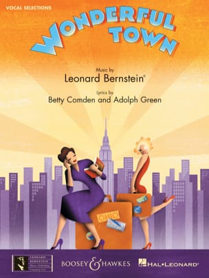 Leonard Bernstein - Wonderfull Town - Vocal Selections - Partition - di-arezzo.fr