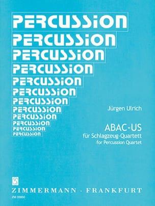 Jürgen Ulrich - Abac-Us - Partition - di-arezzo.fr