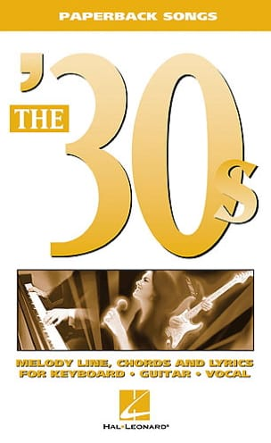 Paperback songs - The '30s - Partition - Jazz - laflutedepan.com