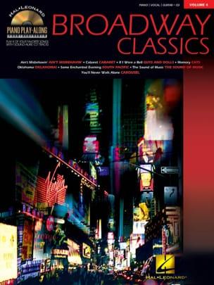 Piano Play-Along Volume 4 - Broadway Classics - laflutedepan.com