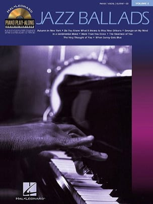 - Piano Play-Along Volume 2 - Jazz Ballads - Sheet Music - di-arezzo.com