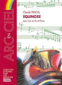 Equinoxe - Claude Pascal - Partition - Cor - laflutedepan.com