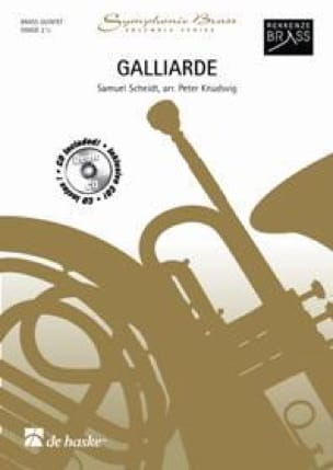 Galliarde - Samuel Scheidt - Partition - laflutedepan.com