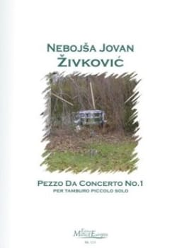 Nebojsa jovan Zivkovic - Pezzo Da Concerto N° 1 Opus 15 - Partition - di-arezzo.fr