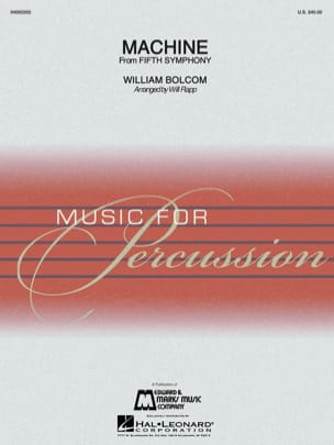 William Bolcom - Machine From Fifth Symphony - Sheet Music - di-arezzo.com