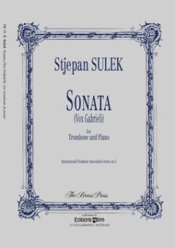 Stjepan Sulek - Sonata Vox Gabrieli - Sheet Music - di-arezzo.co.uk