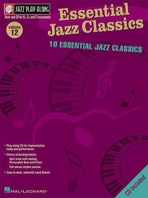 - Jazz play-along volume 12 - Essential Jazz Classics - Sheet Music - di-arezzo.co.uk