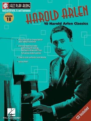 Harold Arlen - Jazz play-along volume 18 - Harold Arlen - Sheet Music - di-arezzo.co.uk
