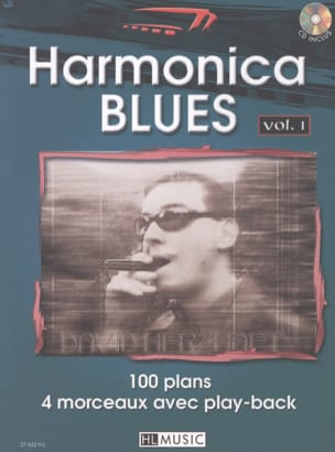 David Herzhaft - Hamonica Blues Volume 1 - Partitura - di-arezzo.it