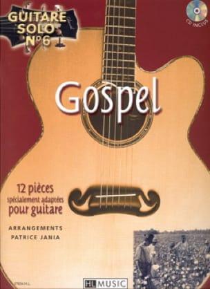 N ° 6 Gospel Solo Guitar - 12 pieces specially adapted for guitar - Sheet Music - di-arezzo.co.uk