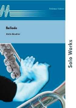 Ballade Emile Baudrier Partition Trompette - laflutedepan