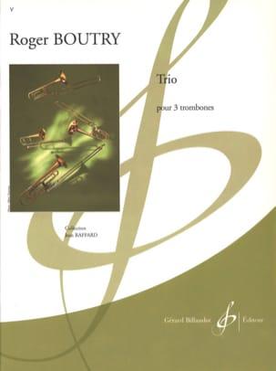 Trio - Roger Boutry - Partition - Trombone - laflutedepan.com