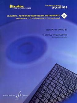 Jean-Pierre Drouet - 5-18 Estudios progresivos - Estudios contemporáneos del teclado 5 - Partitura - di-arezzo.es