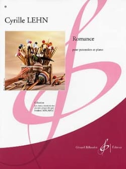 Romance Cyrille Lehn Partition Multi Percussions - laflutedepan