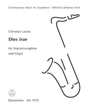 Christian Lauba - Dies Irae - Partition - di-arezzo.fr